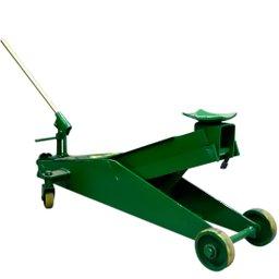Macaco Hidráulico 2 Toneladas Tipo Jacaré Compacto Roda de PU
