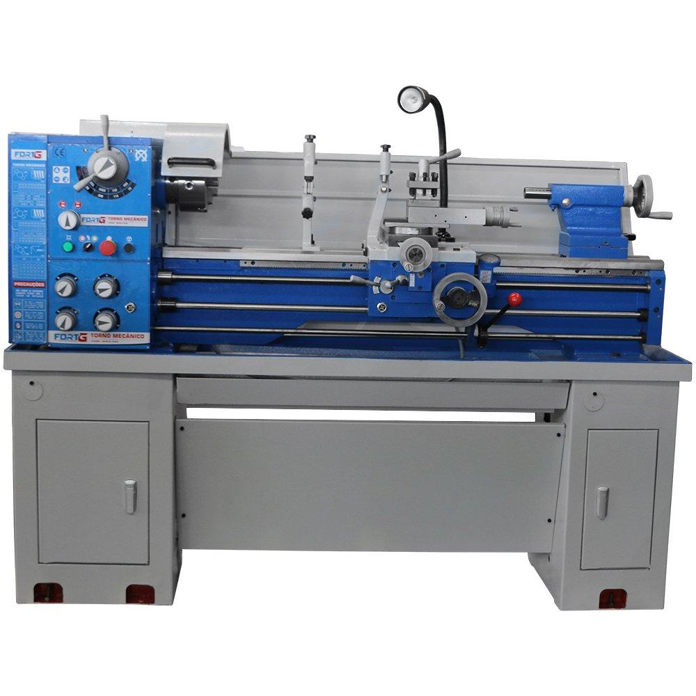 Torno Mecânico Industrial Monofásico 1500W 360 x 1000 mm 220V