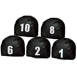 Jogo de Prismas Preta com Número de 1 a 10