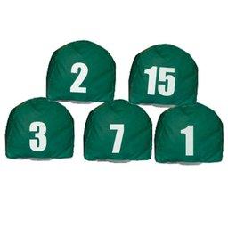 Jogo de Prismas Verde com Número de 1 a 15