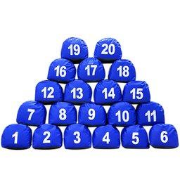 Jogo de Prisma de 1 á 20 Azul