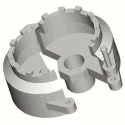 Chave de Garras 1 Pol. para Anel Roscado de Retenção do Rolamento de Roletes Cônicos do Pinhão