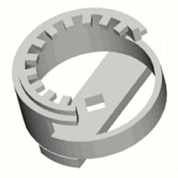 Chave de Garras 1 Pol. para Anel Roscado de Retenção do Rolamento de Roletes Cônicos do Pinhão 160mm