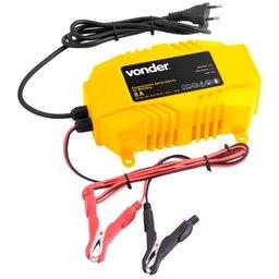 Carregador Elétrico Inteligente para Baterias 12V