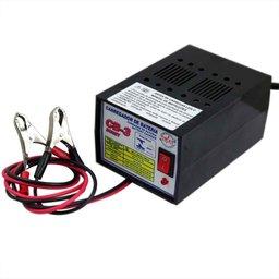 Carregador de Bateria Hobby até 40Ah 220V - Uso Doméstico