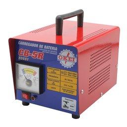 Carregador de Bateria Lento 5A 12V Hobby