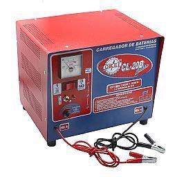 Carregador de Bateria Lento 15A 12V  110/220V