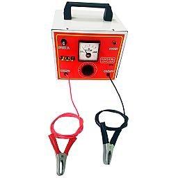 Carregador de Bateria Portátil 10A 12V/24V com Relógio e Seletor