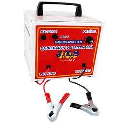 Carregador de Bateria 5A 12/24V Portátil