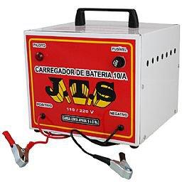 Carregador de Bateria 10A 12/24V Portátil