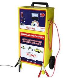 Carregador de Baterias de 12 V a 150 A/h com Regulador de Amperagem