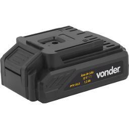 Bateria íons de lítio de 12V para parafusadeira/furadeira PFV 012 VONDER