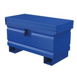 Baú Metálico Multiuso Azul 36 Pol.