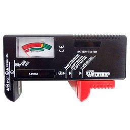 Testador de Baterias e Pilhas
