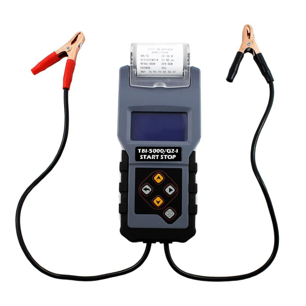 Teste de Bateria Digital 12V com Impressora Térmica