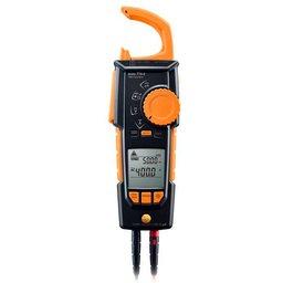 Alicate Amperímetro True-RMS com Medição de Temperatura e Adaptador Tipo K