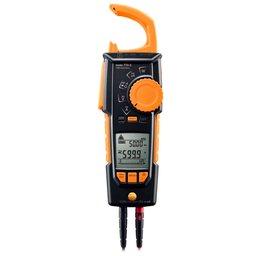Alicate Amperímetro True-RMS Bluetooth com Medição de Temperatura