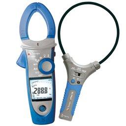 Alicate Amperímetro/ Wattímetro Digital com Garra Flexível
