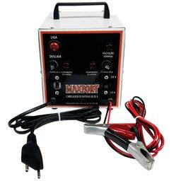 Carregador de Baterias Portátil 12/ 24V 5Ah Bivolt
