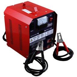 Carregador de Baterias Automotiva Rápido e Lento + Auxiliar de Partida 50A 12/24 V