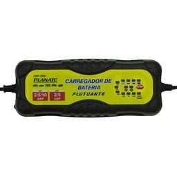 Carregador de Bateria Flutuante 12 e 24 VDC 220V