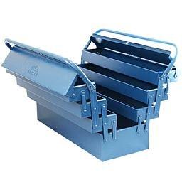 Caixa de Ferramentas Sanfonada com 7 Gavetas Azul
