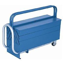 Caixa de ferramentas sanfonada móvel com rodas e 5 gavetas - Marcon