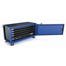Caixa para ferramentas Pickup Box azul 500x1000x500 mm