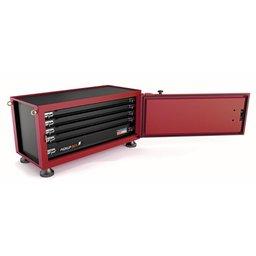Caixa para ferramentas Pickup Box vermelho 500x1000x500 mm