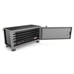 Caixa para ferramentas Pickup Box cinza 500x1000x500 mm