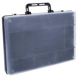 Maleta Organizadora com Tampa Transparente 325 x 50 x 220mm