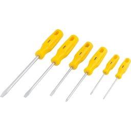 Jogo de chaves de fenda/phillips com 6 peças VONDER