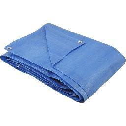 Lona de polietileno azul 3 m x 2 m