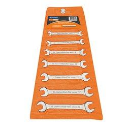 Jogo de Chaves Fixas 6 x 19 mm com 7 peças