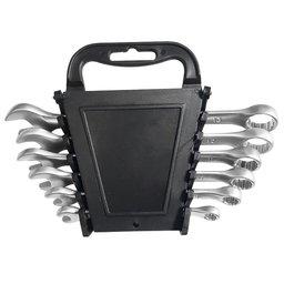 Jogo de Chaves Combinadas Cr-V 6 a 13mm com 6 Peças e Estojo