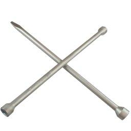 Chave de Roda tipo Cruz 17x19 - 13/16 x Espátula