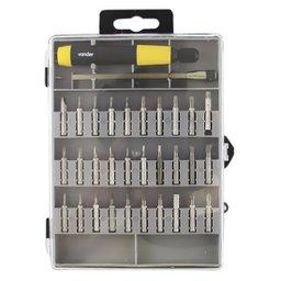 Jogo de Pontas de Precisão com 32 Peças com Encaixe de 4mm