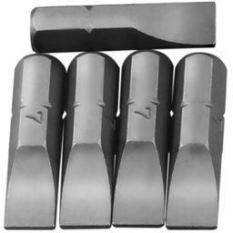 Bits Fenda Simples com Encaixe de 1/4 Pol. de 7 mm com 5 Peças