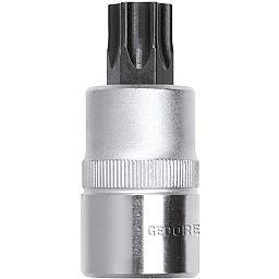 Chave Soquete Hexalobular T40 com Encaixe de 1/2 Pol.
