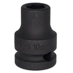 Soquete de Impacto Sextavado de 10mm com Encaixe de 1/2 Pol.