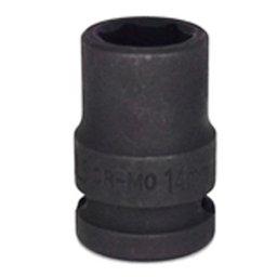 Soquete de Impacto Sextavado de 14mm com Encaixe de 1/2 Pol.