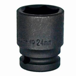 Soquete de Impacto Sextavado de 24mm com Encaixe de 1/2 Pol.