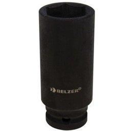 Soquete de Impacto Sextavado Longo de 18mm com Encaixe de 1/2 Pol.