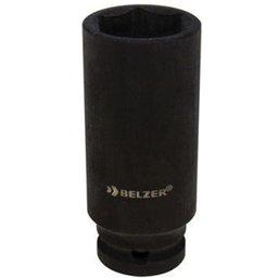 Soquete de Impacto Sextavado Longo de 22mm com Encaixe de 1/2 Pol.