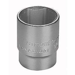 Soquete Sextavado 16mm em Cr-V com Encaixe de 1/2 Pol
