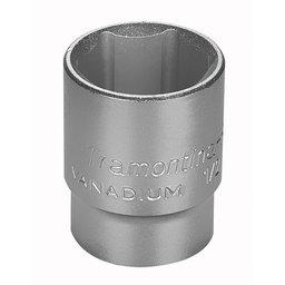 Soquete Sextavado 19mm em Cr-V com Encaixe de 1/2 Pol.