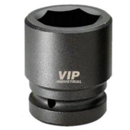 Soquete Sextavado de Impacto Curto de 15mm com Encaixe de 1/2 Pol.