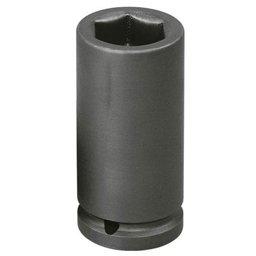 Soquete Sextavado de Impacto Longo 8mm com Encaixe de 1/2 Pol.