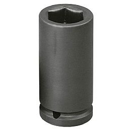 Soquete Sextavado de Impacto Longo 32mm com Encaixe de 1/2 Pol.