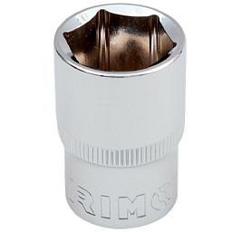 Soquete Sextavado Cr-V de 13mm com Encaixe de 1/2 Pol.